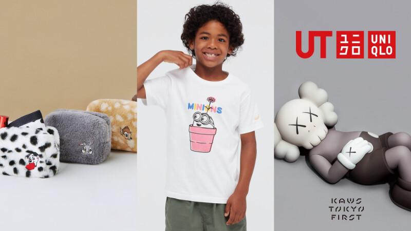 Uniqlo 2021下半年重點UT系列盤點!Kaws三度回歸、小小兵、迪士尼卡通…6個預告搶購聯名一次看