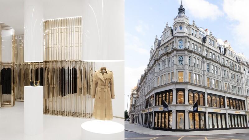 Burberry倫敦斯隆街一號旗艦店全新登場!使用最奢華店裝設計,從一樓到三樓直接帶你逛
