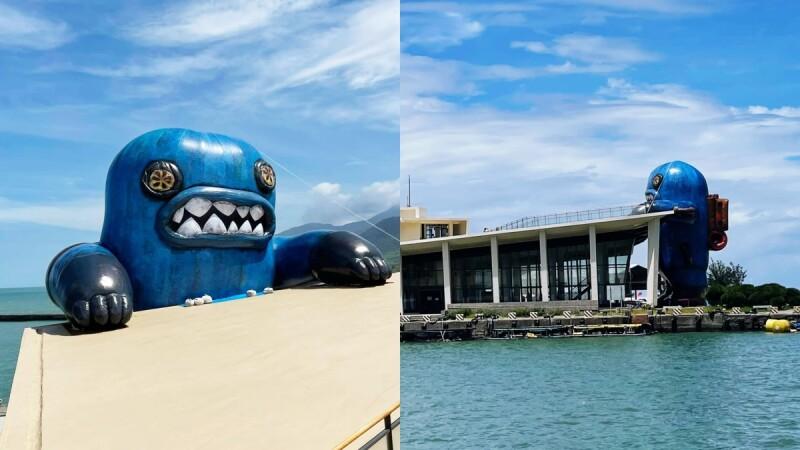 14米高「春江獸」入侵!屏東看海美術館奇幻展覽限時起跑,近40件怪奇生物作品登場,成最新藝術打卡地標