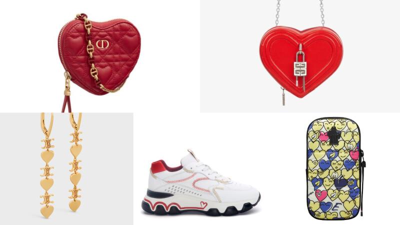 盤點七夕情人節各式心型單品,愛心鍊條包、球鞋、印花包、耳環...佳節浪漫獻禮這樣選