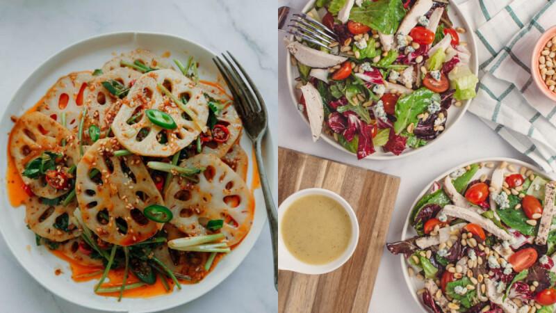 健康美味的低脂涼拌時蔬菜單來了,吃一大盆都不胖!
