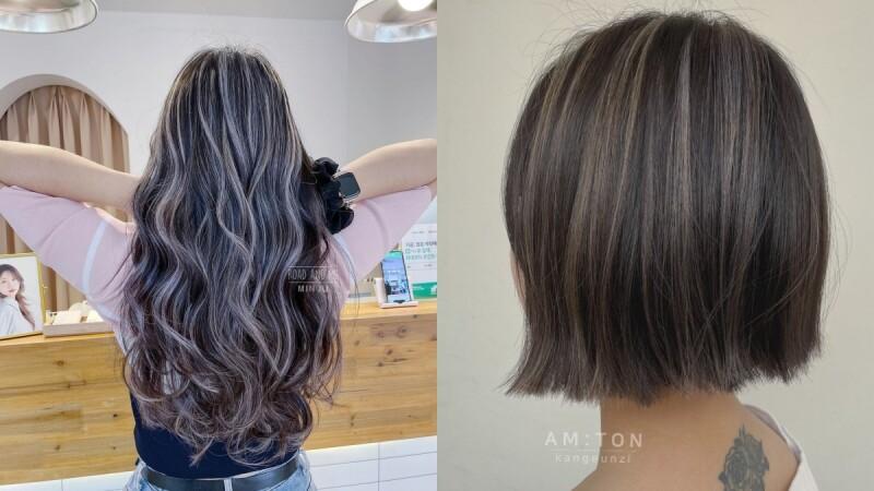 2021染髮推薦:跳色、雙色不夠看,三色線條染讓原生髮色更活潑!