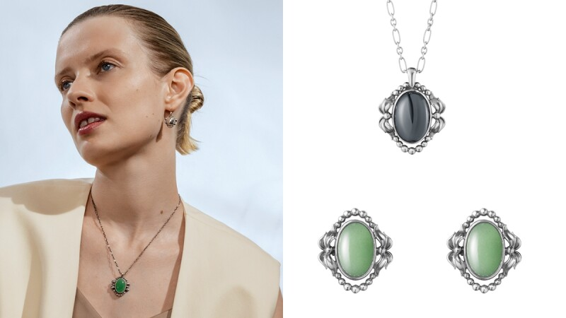 2022新款報到!喬治傑生Georg Jensen 2022 Heritage年度紀念珠寶登場,台灣獨賣款項鍊、限定綠色系寶石耳環…全系列作品與售價在此