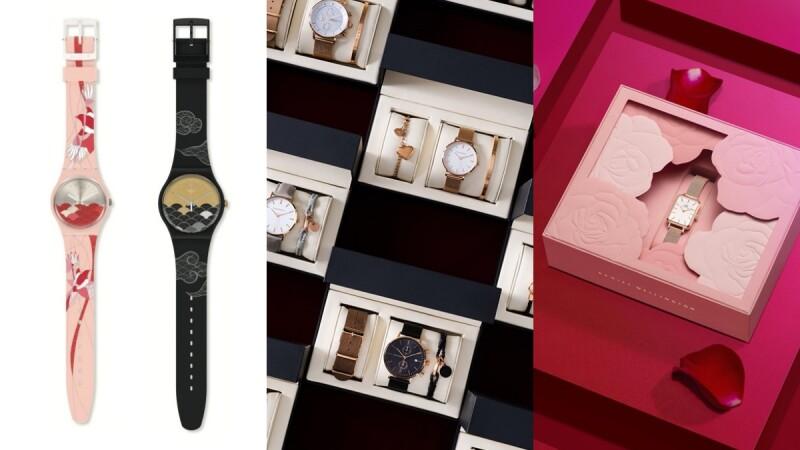 2021七夕情人節禮物對錶、對飾推薦!DW氣質玫瑰金、Theodora's溫柔奶茶色、Swatch牛郎織女為題…高質感小預算的限定禮盒盤點