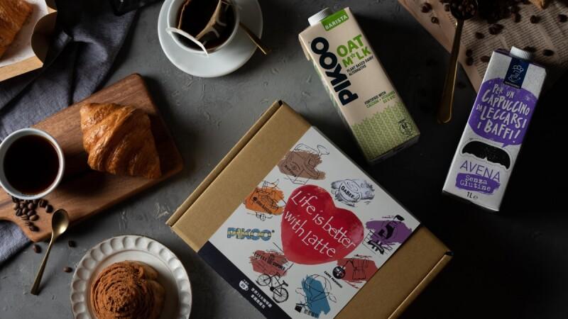 芳時品味 Fancy Food 推出拿鐵控必備救援箱,集結台灣25大咖啡廳以及跨國知名燕麥奶品牌,最強聯名企劃