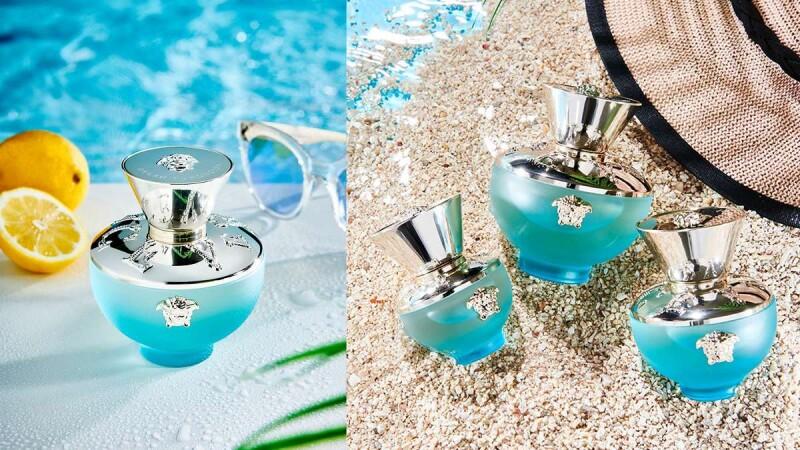 這款香水根本自帶女神香氣!VERSACE凡賽斯狄倫淡藍女性淡香水彷彿任意門,一噴瞬間到海邊,全身都享受著舒服清新氣息~