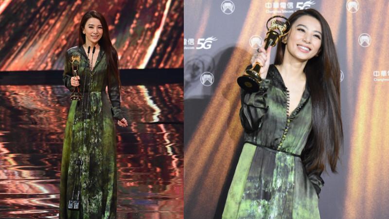 田馥甄首奪2021金曲獎歌后!感謝好姐妹Selina、Ella:「我是愛唱歌的女孩。」