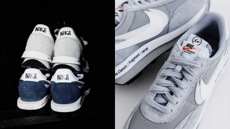 Sacai X Fragment Design X Nike LDWaffle三方聯名推出低調灰、海軍藍!開賣日期敲定,台幣售價曝光