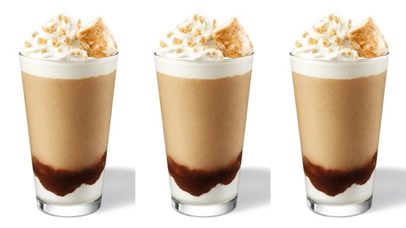 星巴克北美人氣口味「烤棉花糖咖啡星冰樂」台灣開賣!全麥餅乾、一整顆烤棉花糖太想喝
