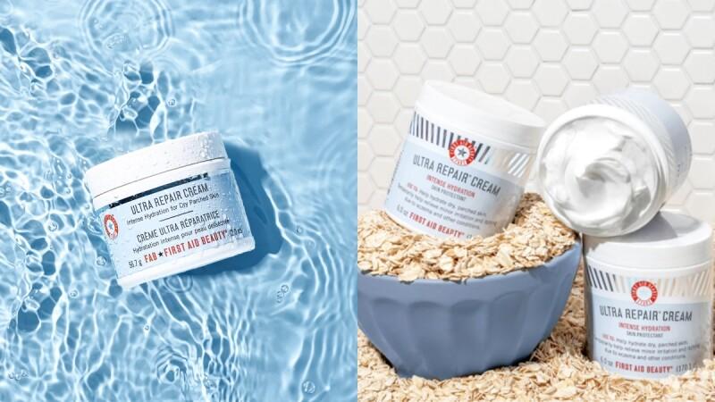 美國保養品牌First Aid Beauty 2021登台,最推薦燕麥保濕霜救援問題肌