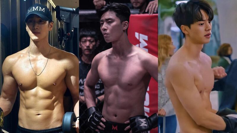 韓國健身教練評比男星身材榜!朴敘俊第3、柳演錫第5、2PM俊昊 緊追 宋江,第1名是他!
