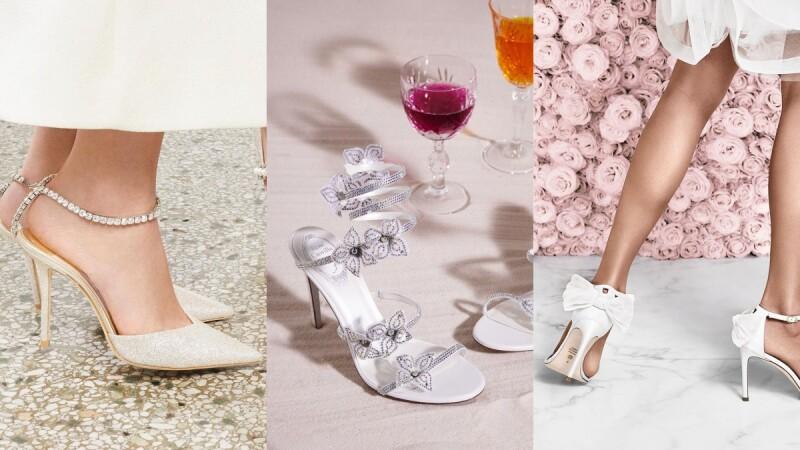 2021白色系精品婚鞋推薦!Jimmy Choo、Roger Vivier...8雙宛如藝術品般的絕美婚鞋