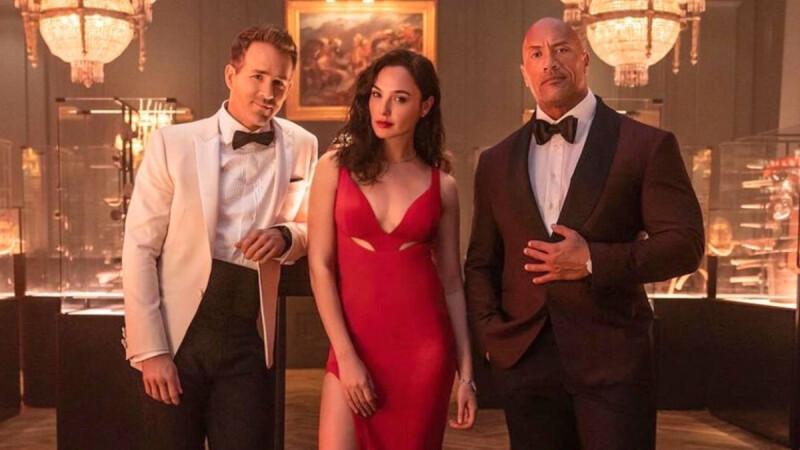 Netflix《紅色通緝令》卡司太強!巨石強森、蓋兒加朵、萊恩雷諾斯攜手主演
