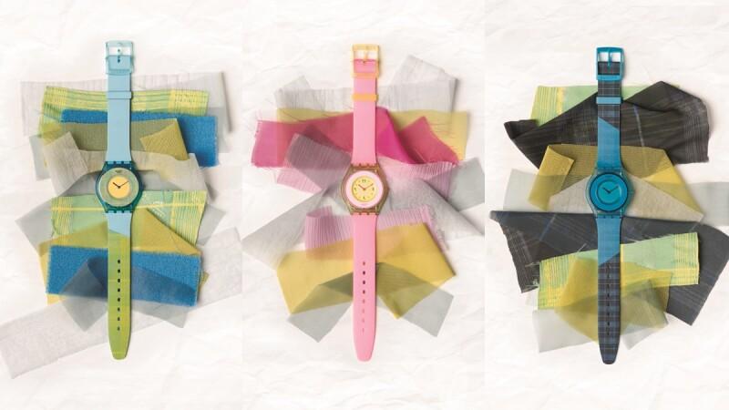 Swatch世上最輕薄手錶誕生,印度玫瑰、香料鮮綠…5種繽紛配色太難抉擇