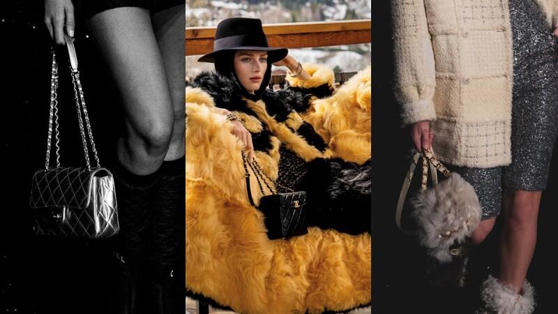 Chanel 2021秋冬新包款TOP5金屬粗鍊、化妝箱包、羊毛小包…夢幻美包大集合