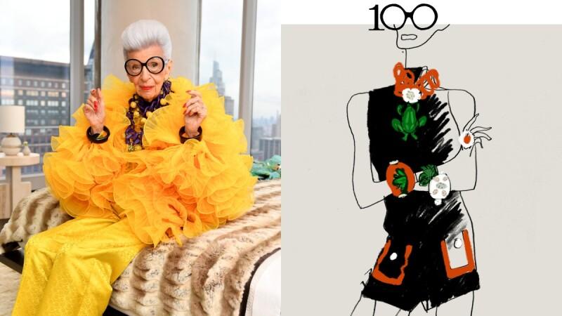 H&M驚喜推出時尚潮嬤Iris Apfel聯名系列,設計手稿與服飾單品搶先看