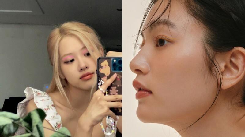 2021妝容趨勢:彩色眼線!Rose、太妍都著迷,還有懶人貼紙!
