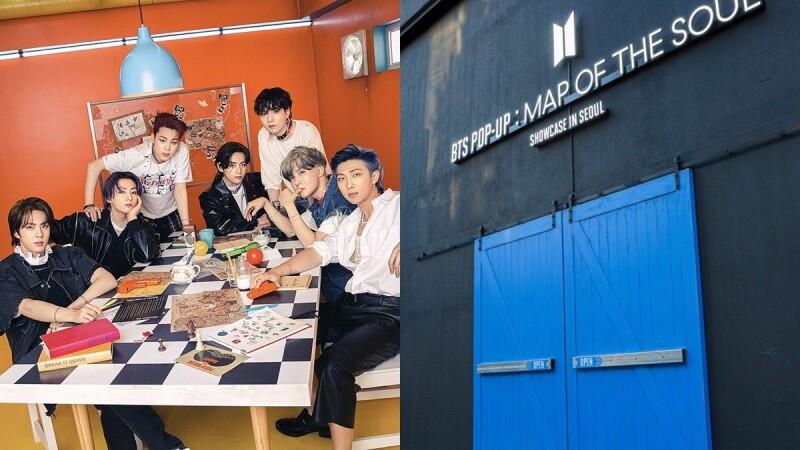 防彈少年團快閃店要降臨台北華山啦!BTS POP-UP線上商店9/14正式上線