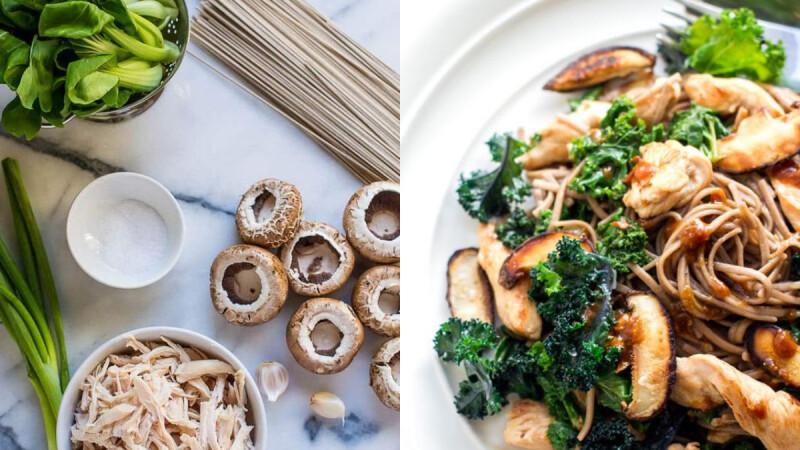 日式鮪魚涼拌高麗菜/雜蔬雞胸肉烘蛋/香菇雞燜蕎麥麵,3道低脂快手餐食譜來了!