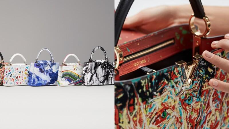LV Artycapucines藝術家聯名第三彈!6款彩繪包包細節、上市資訊一次看
