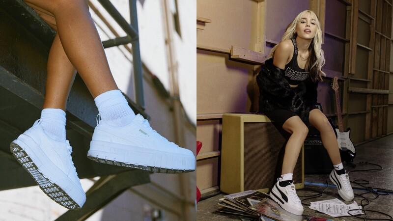Puma X Dua Lipa全新MAYZE鋸齒厚底妹子鞋,3大球鞋設計、開賣日期、售價公開