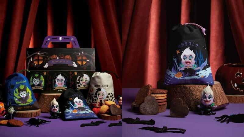 詩特莉迪士尼反派角色禮盒限量登場!烏蘇拉與黑魔女等限定餅乾在這裡