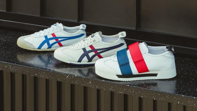 喜歡小白鞋的妳一定要收! Onitsuka Tiger 這三雙MEXICO 66進化版, ALL IN也超可以!