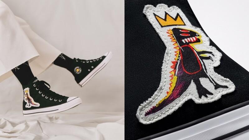 Converse聯手GD愛牌Basquiat為Chuck 70換上塗鴉潮衣,3雙帆布鞋設計、售價一次看
