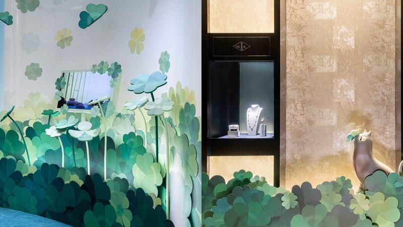 梵克雅寶「Alhambra幸運國度」Sogo復興館精品店新開張,亮點搶先逛