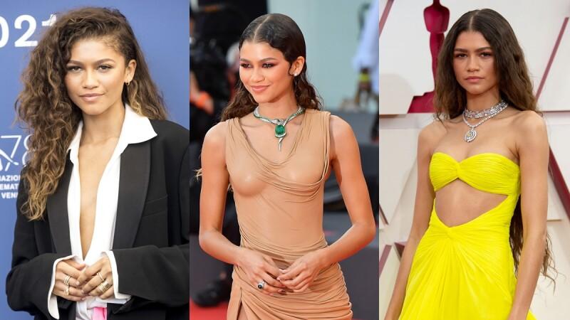 盤點Zendaya紅毯上的珠寶穿搭,俐落帥氣、性感大器…你喜歡哪個她?