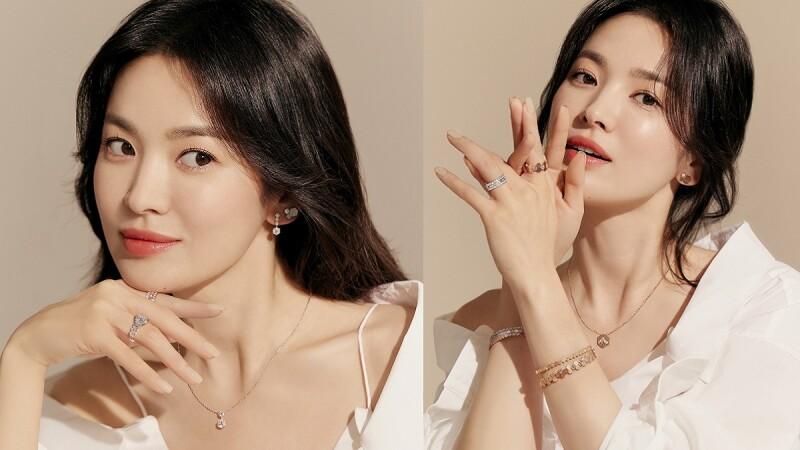 Chaumet Bee My Love系列讓女神宋慧喬散發出耀眼光彩的迷人魅力,是品味女子的命定珍藏珠寶的必備清單之一!