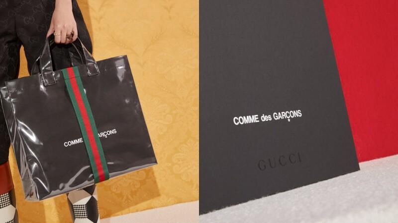 Gucci無預警聯手Comme des Garçons推出聯名托特包!開賣日+販售資訊一次告訴你