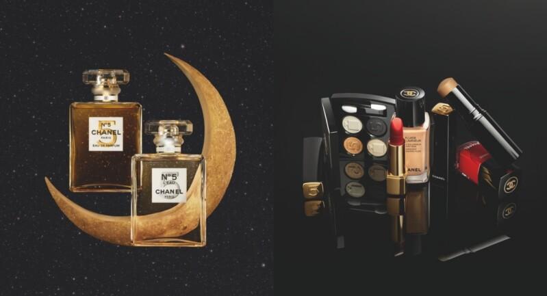 香奈兒 2021聖誕限量彩妝!N°5 百年典藏,眼影、口紅和香水向經典致敬