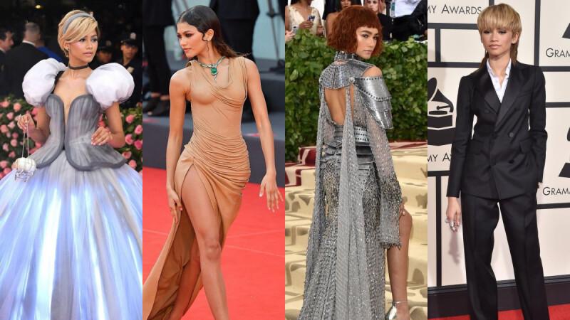 Zendaya榮獲CFDA 2021年度時尚人物殊榮!千黛亞百變的紅毯造型盤點