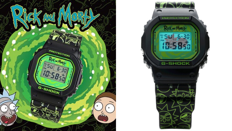G-Shock推出《瑞克和莫蒂》限量迷幻聯名手錶!開賣日+商品資訊一次看
