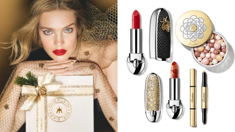 嬌蘭2021聖誕彩妝登場,精品級手工刺繡金蜂的口紅外殼太精緻