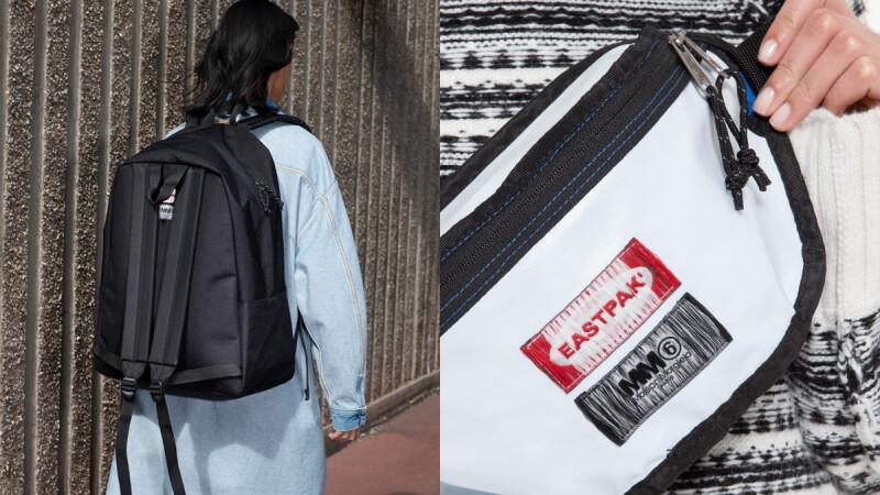 MM6攜手學生愛牌Eastpak推出聯名包款!雙面兩用腰包、雙背帶後背包…一個價錢買到兩個包包