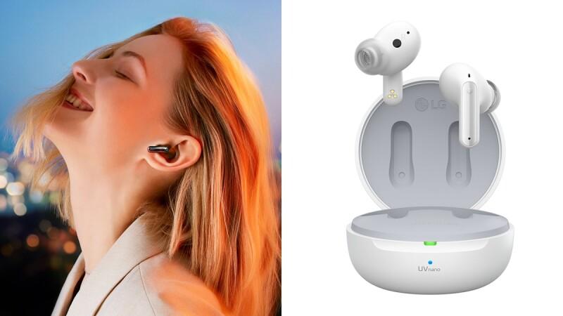 LG藍牙耳機再升級!3D環繞音效、5分鐘殺菌…成追劇運動絕佳配件