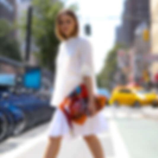 【街拍速報】時尚新定義!紐約時裝週街頭潮人教你穿出最時髦的Normcore風格