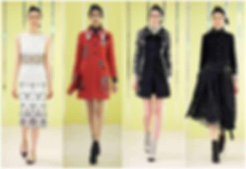 2016 Marc Jacobs早春系列延續秋冬細節設計,展現復古龐克氣息