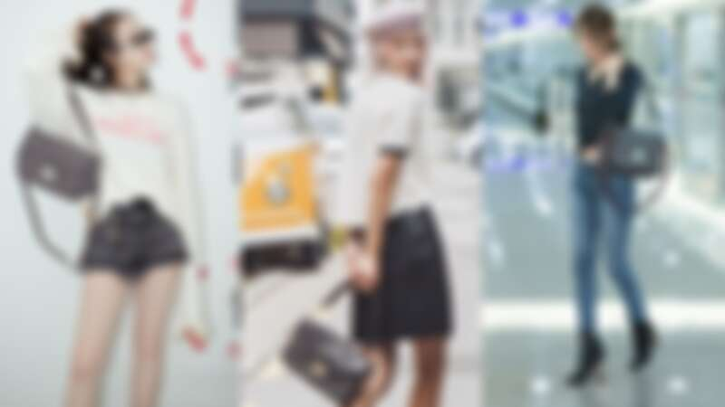 跟她們撞包我可以!劉仁娜、超模Irene Kim 、F(x)宋茜都愛的Longchamp新包款是它…?