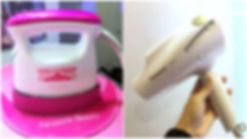 不用跑去日本買!不只吹風機N98新色星燦白上市,Panasonic Beauty迷你的兩用熨斗也好想擁有