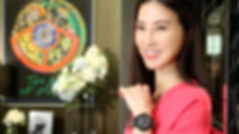 孫瑩瑩:Hublot宇舶錶的設計很年輕,有個性又多變,每一只都很值得收藏!