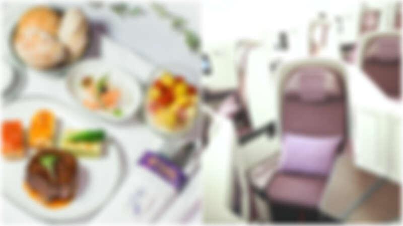 直飛優先通關、吃米其林大餐佐香檳、托運行李重量高至40kg、價格等同飛香港商務艙  到曼谷必搭泰航商務艙不可不知五亮點