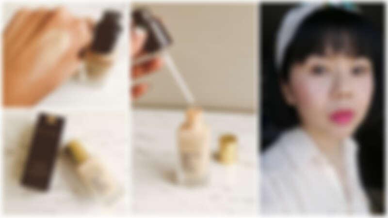 【Vicky Lin 旅英彩妝世界】12小時不補妝實驗,雅詩蘭黛「粉持久微霧光澤水粉底」真的超驚豔!