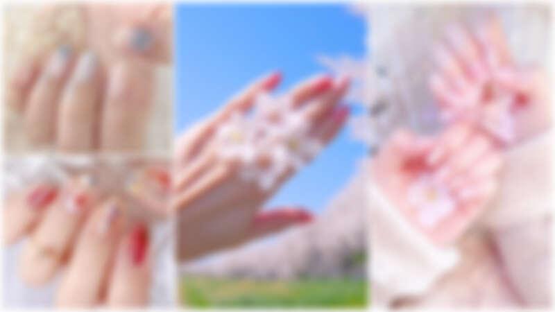 指彩也來到櫻花季~8款櫻花光療指彩靈感,瞬間氣質爆棚不收不行!