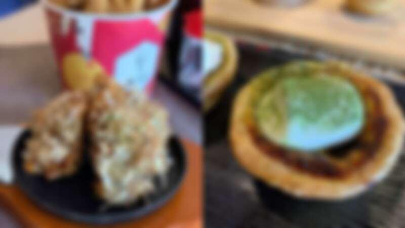 肯德基蛋撻新口味來了!全新抹茶雲朵蛋撻登場,大阪燒日式脆雞驚喜上市