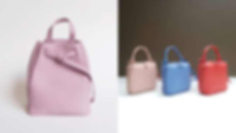 直接鎖定這款粉嫩後背包!來自泰國的小眾品牌AL&CO,真皮手工製作、著重內袋設計超實用