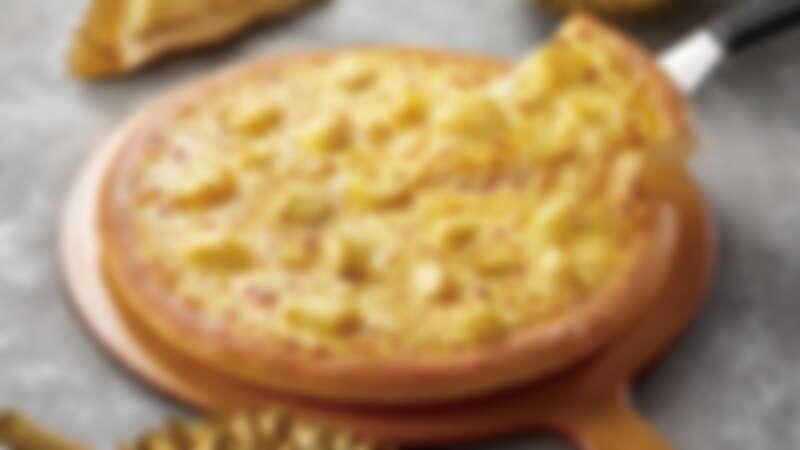 這口味太狂了!必勝客首度推出黃金榴槤比薩,榴槤控快點來挑戰