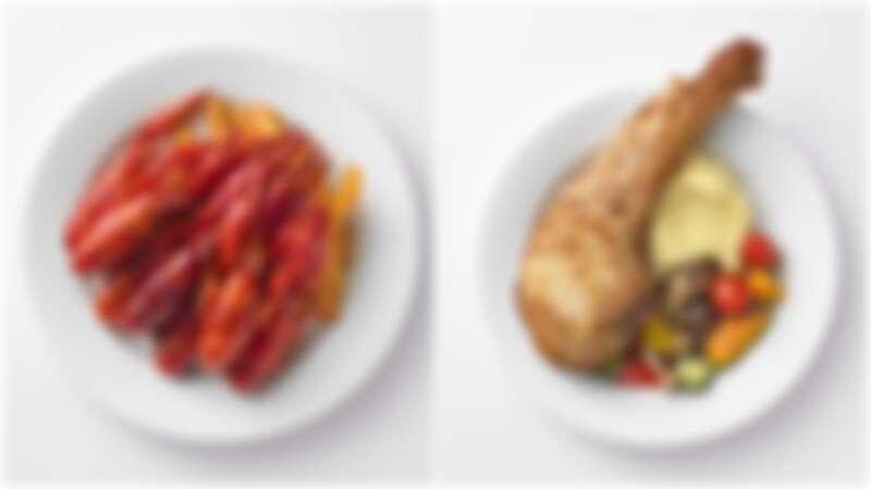IKEA新菜單來了!香辣小龍蝦盤、彈牙戰斧豬排逼人口水直流,還有超平價燒賣、蘿蔔糕等6款美食上桌